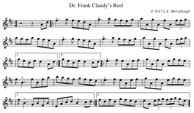 Dr. Frank Claudy's Reel copy