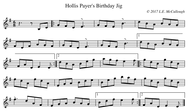 Hollis Payer's Birthday Jig