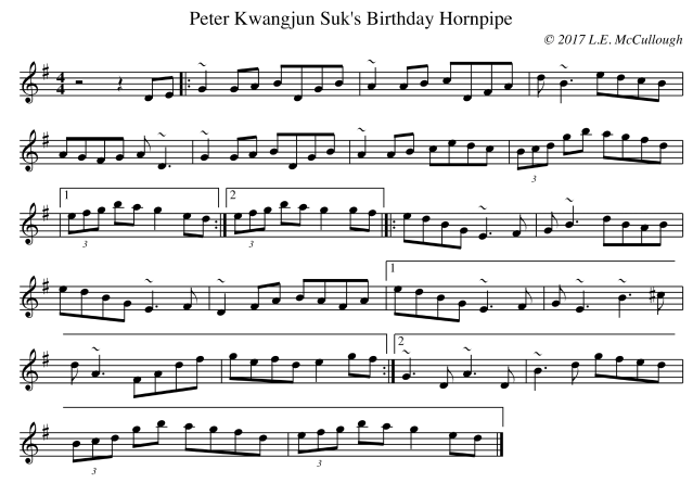 Peter Kwangjun Suk's Birthday Hornpipe copy