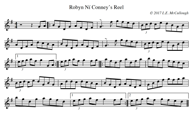 Robyn Ní Conney's Reel copy