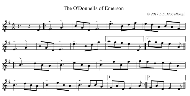 The O'Donnells of Emerson copy