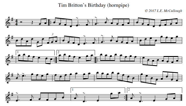 Tim Britton's Birthday copy